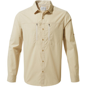 Craghoppers Kiwi Boulder Long Sleeved Shirt Men Oatmeal